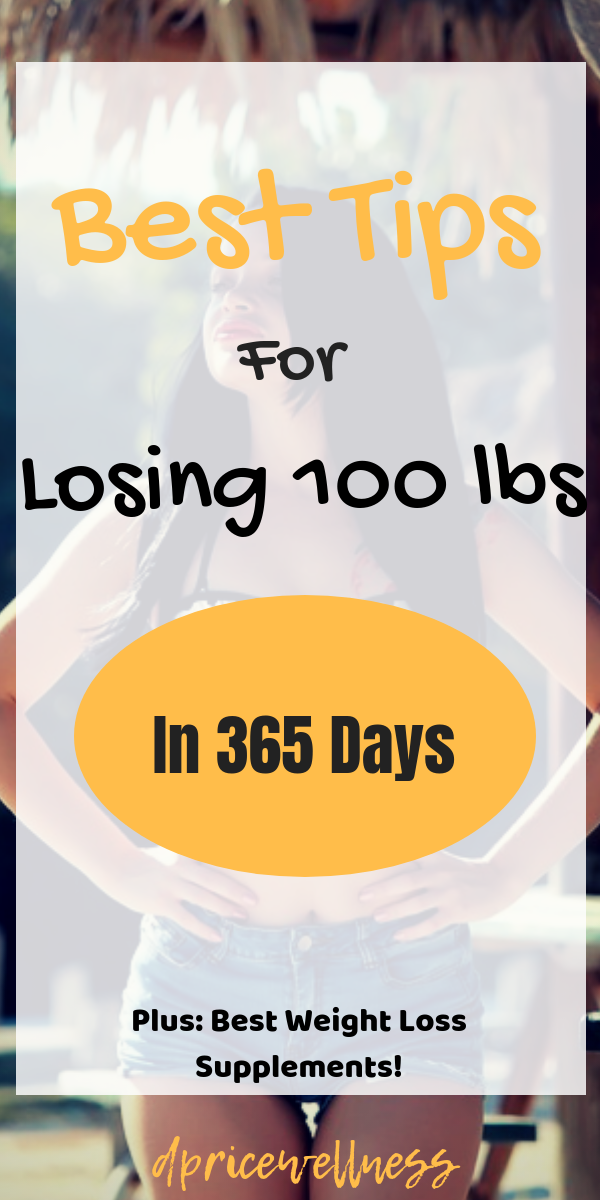The Simplest Way To Lose 100 Pounds In One Year is... Changing Your Eating Habits.   80-90% of your...