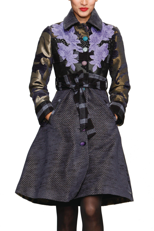 Desigual coat Abrig Mina black XL