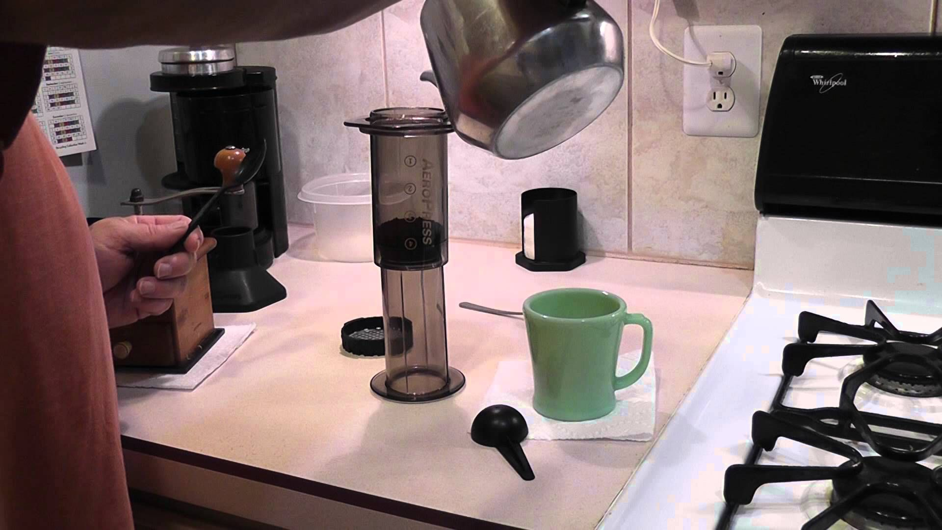 NoDilute Aeropress Single Cup Vintage coffee, Aeropress