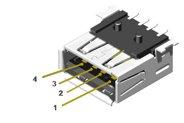 usb socket female connector circuit circuit diagram usb socket female connector asfbconference2016 Images