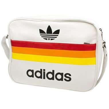 Adidas Vintage Three Stripe Airline Bag Adidas Bags Vintage Adidas Bags