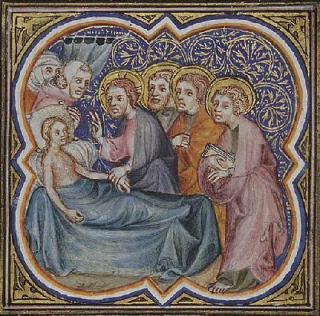 Offerings for Easter by the illustrator of Petrus Comestor 'Bible Historiale', France, 1372 - Szukaj w Google