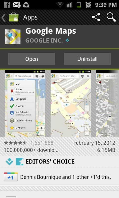 The New Gmaps For Android Location History Search Map Social Media