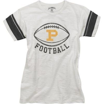'47 Brand Purdue Boilermakers Kerrigan Collection Women's Game Time T-Shirt
