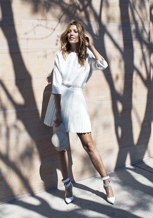 Summer manifesto - White Clothing Essentials - ADORENESS