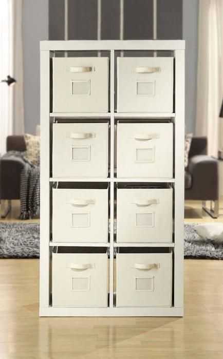 the o nin room divider makes clutter control easy for any room of rh pinterest com monin roasted hazelnut room divider o'nin room divider with 8 storage containers