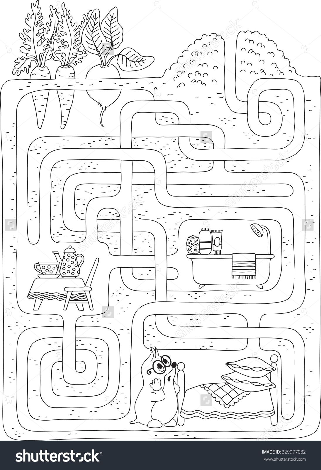 Labyrinth Maze Level 2