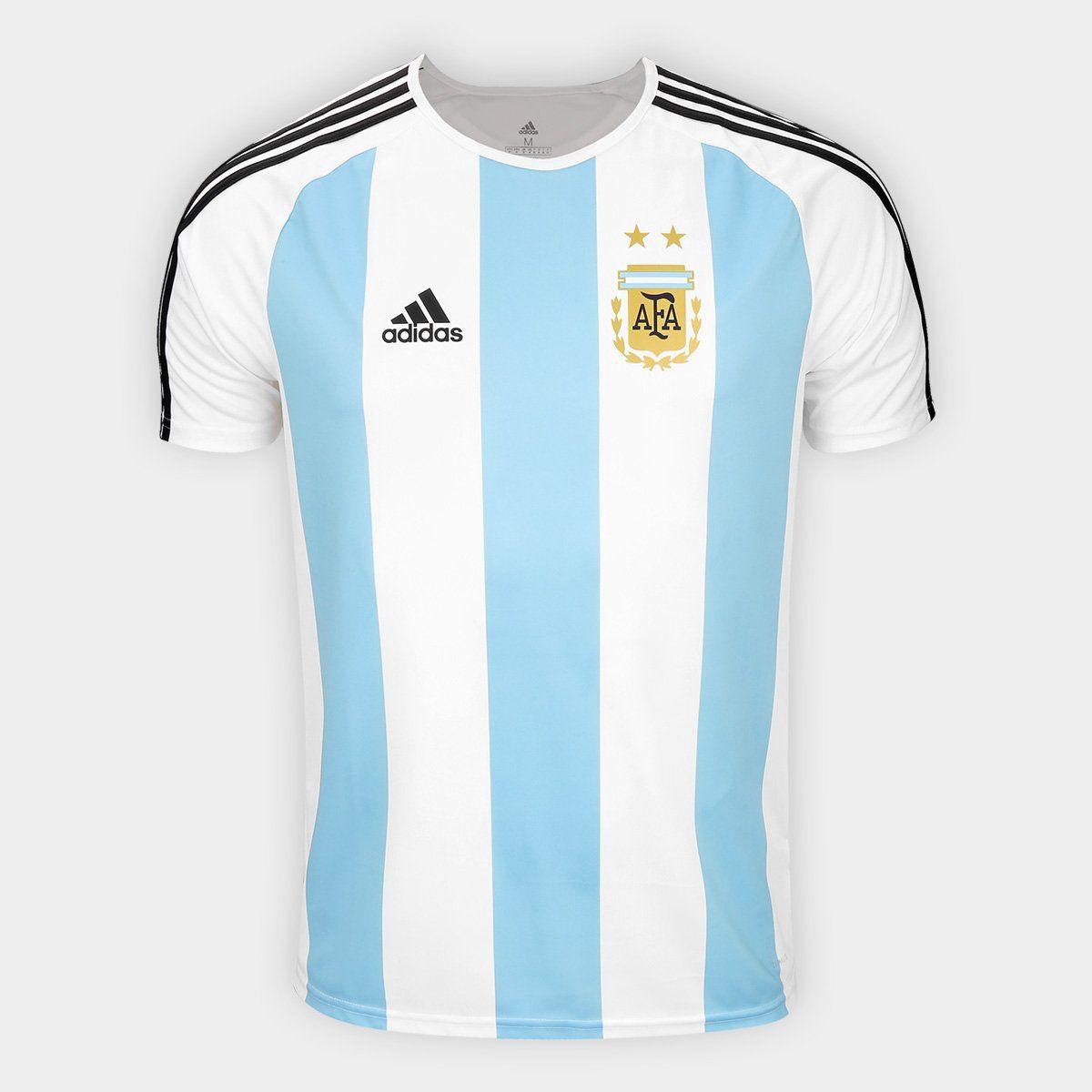 Camiseta Adidas Selección Argentina Fan Futbol Football Argentina Camiseta Camisetas Camiseta Seleccion Adidas