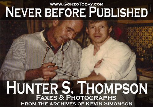 Gonzo Today releases never before published Hunter S
