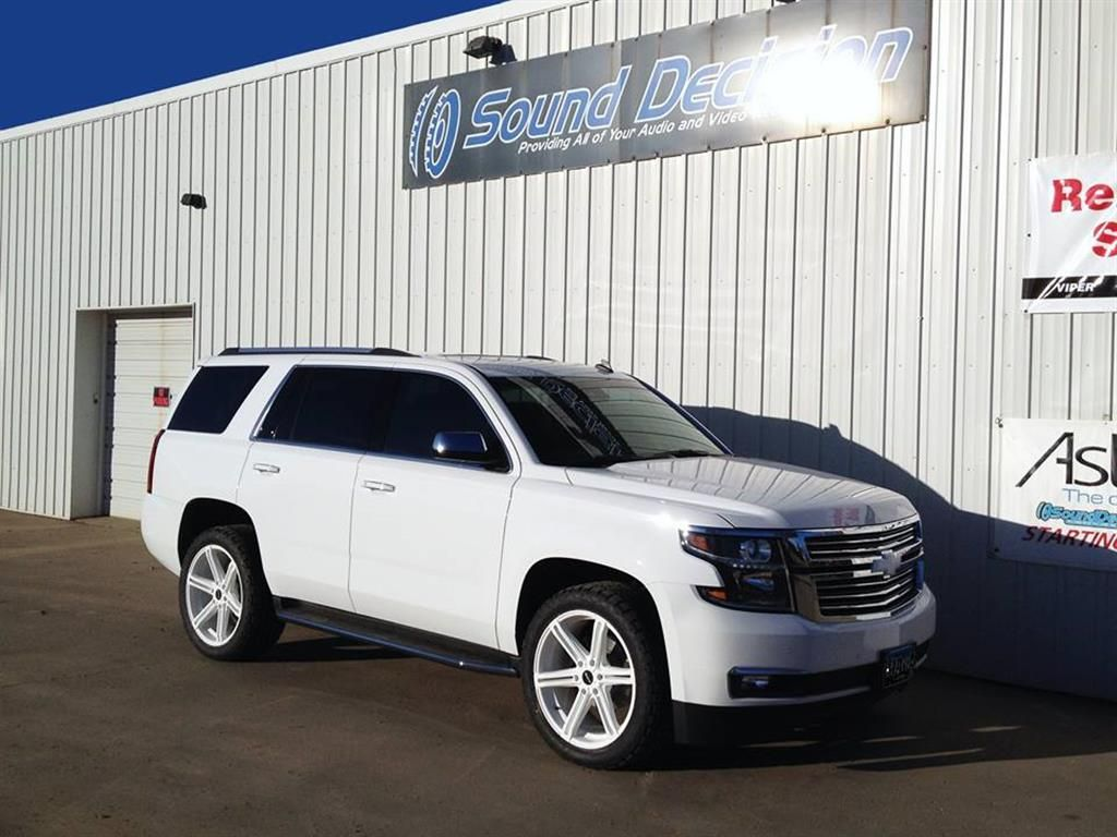 2015 Chevy Tahoe With Kmc Faction Wheels Sound Decision Photo 69575 Chevy Tahoe 2015 Chevy Tahoe Tahoe