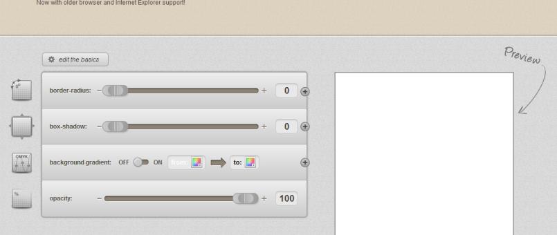 30 hilfreiche CSS3 Online Generatoren