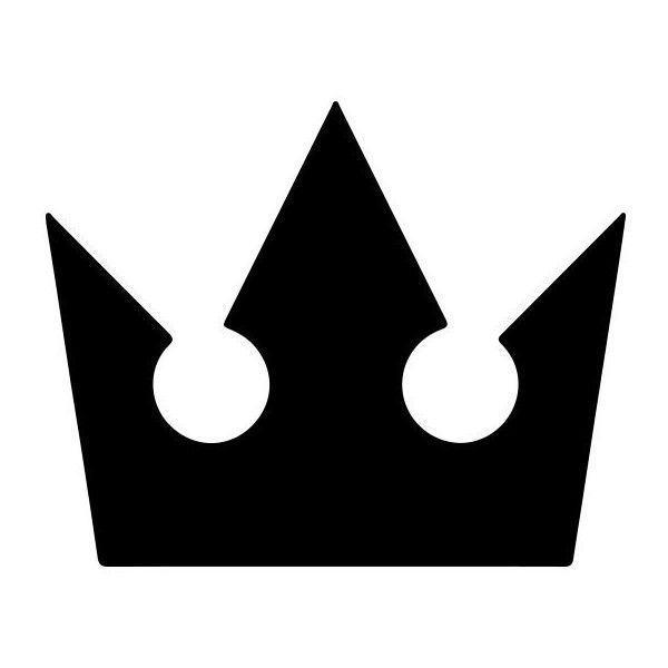 Kingdom Hearts Crown Icon Kingdom Hearts Tattoo Kingdom Hearts Crown Kingdom Hearts Art