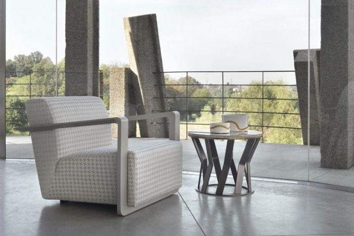 24 Design Armsessel und Armlehnstühle mit Retro-Look Möbel - designer heizkorper minimalistischem look