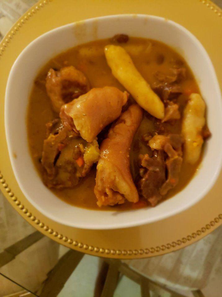 jamaican stew peas  recipe in 2020  stew peas jamaican