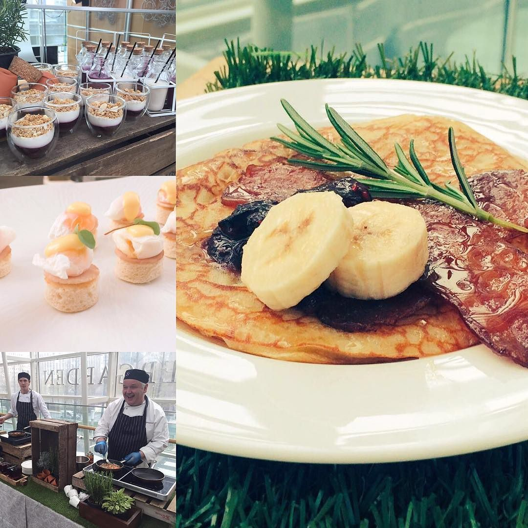 ampersand events are doing breakfast this morning showcasing our