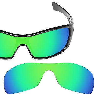 HKUCO Mens Replacement Lenses for Oakley Antix Sunglasses Emerald Green Polarized 8Q5RJf