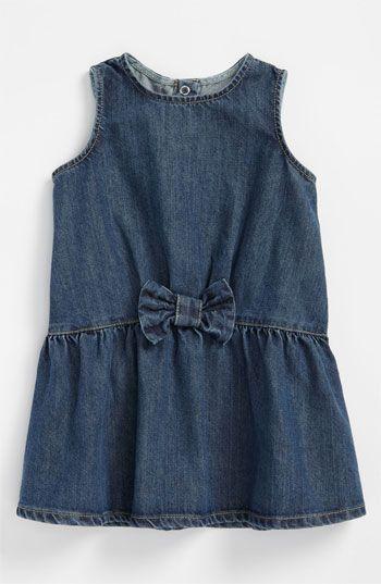 402747beb251 United Colors of Benetton Kids Denim Dress (Infant) available at  Nordstrom