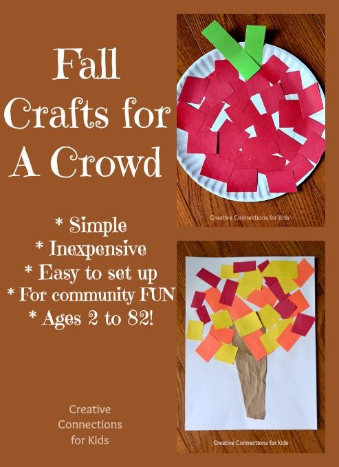 Fall Crafts for a Crowd