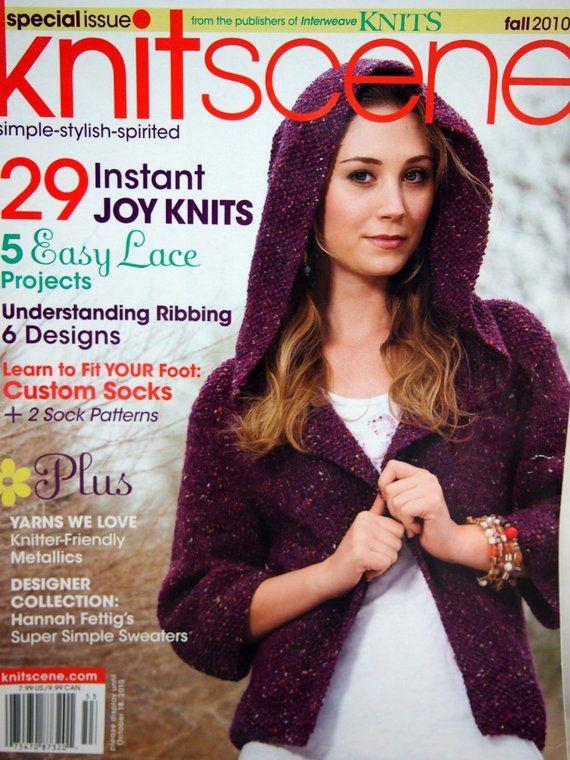 Knit Scene Knitting Pattern Magazine Fall 2010 Products