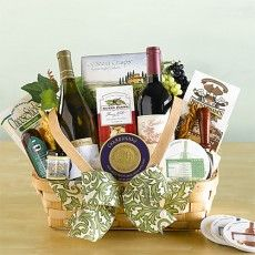 California Delicious - Taste of the Season Wine Gift Basket. $79