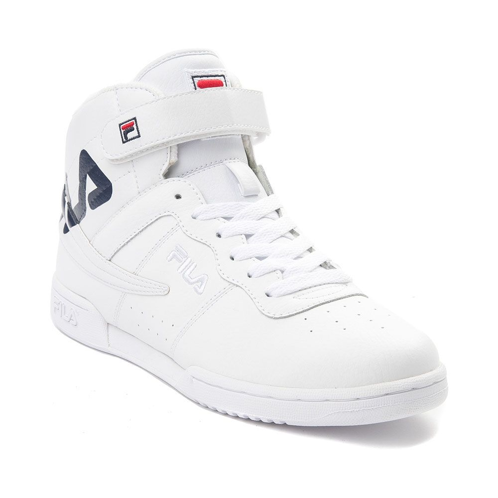Womens Fila F 13 Athletic Shoe WhiteNavyRed 452013