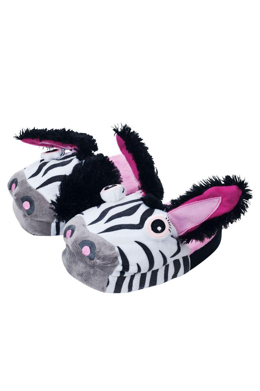 976611fb371b Zebra Slippers