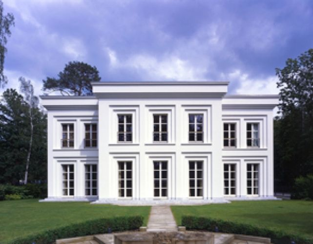 The virtual builder villa fohlenweg by hoehne for Klassische villenarchitektur