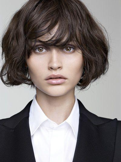 Jean Claude Aubry 2012, hair Coupe de cheveux courte