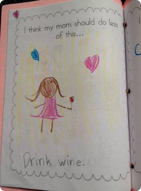 Parenting!!!! Miranda drew this last week!! Haha