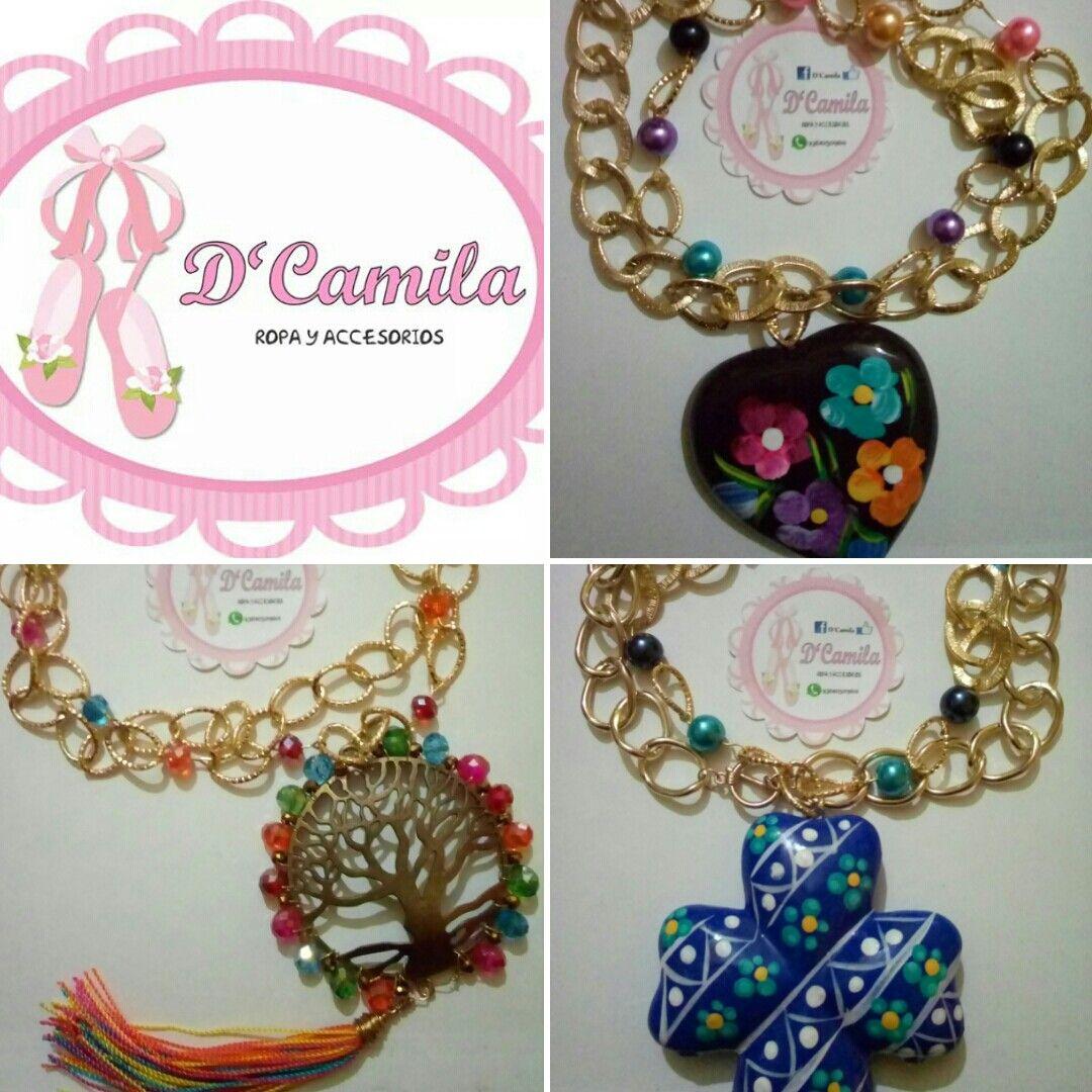 3ce8797e4245 Pin by Karla Acosta on D Camila collares artesanales