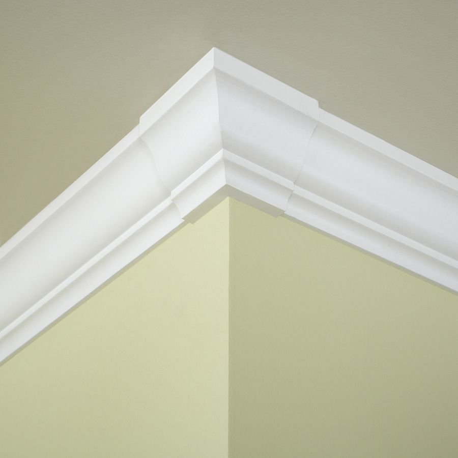 Shop Evertrue 4 In X 4 In Pine Wood Outside Corner Crown Moulding