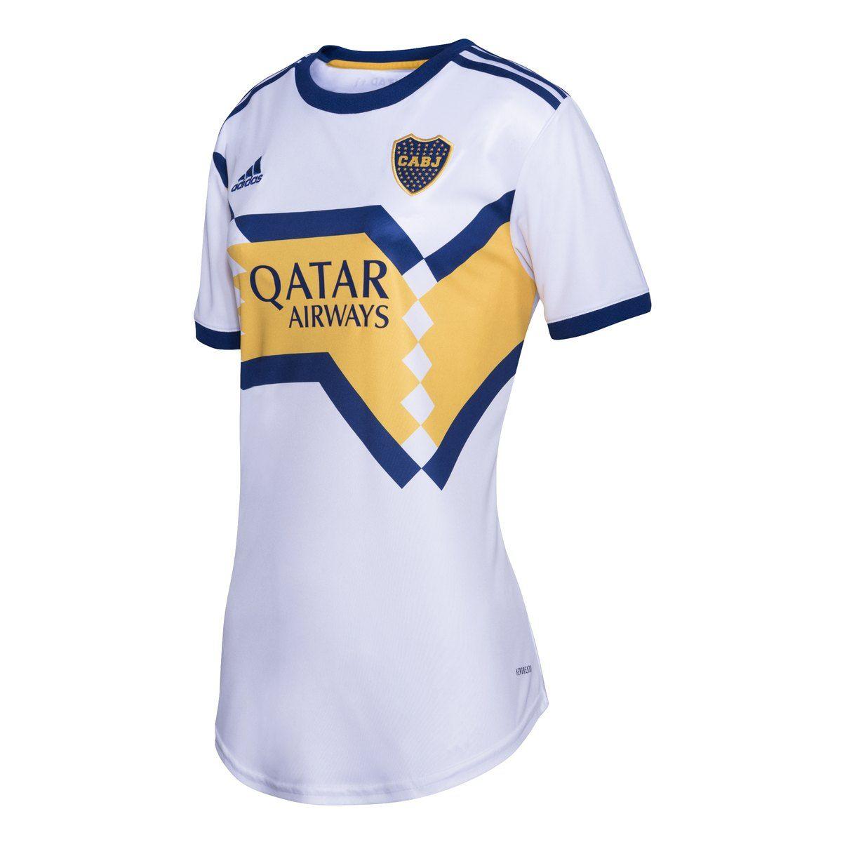 CAMISETA BOCA JUNIORS AWAY MUJER adidas en 2020 | Camiseta ...
