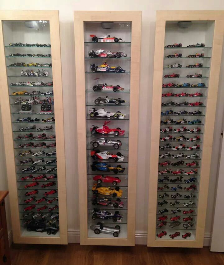 Formula 1 Collection; World Champions In The Cabinet To