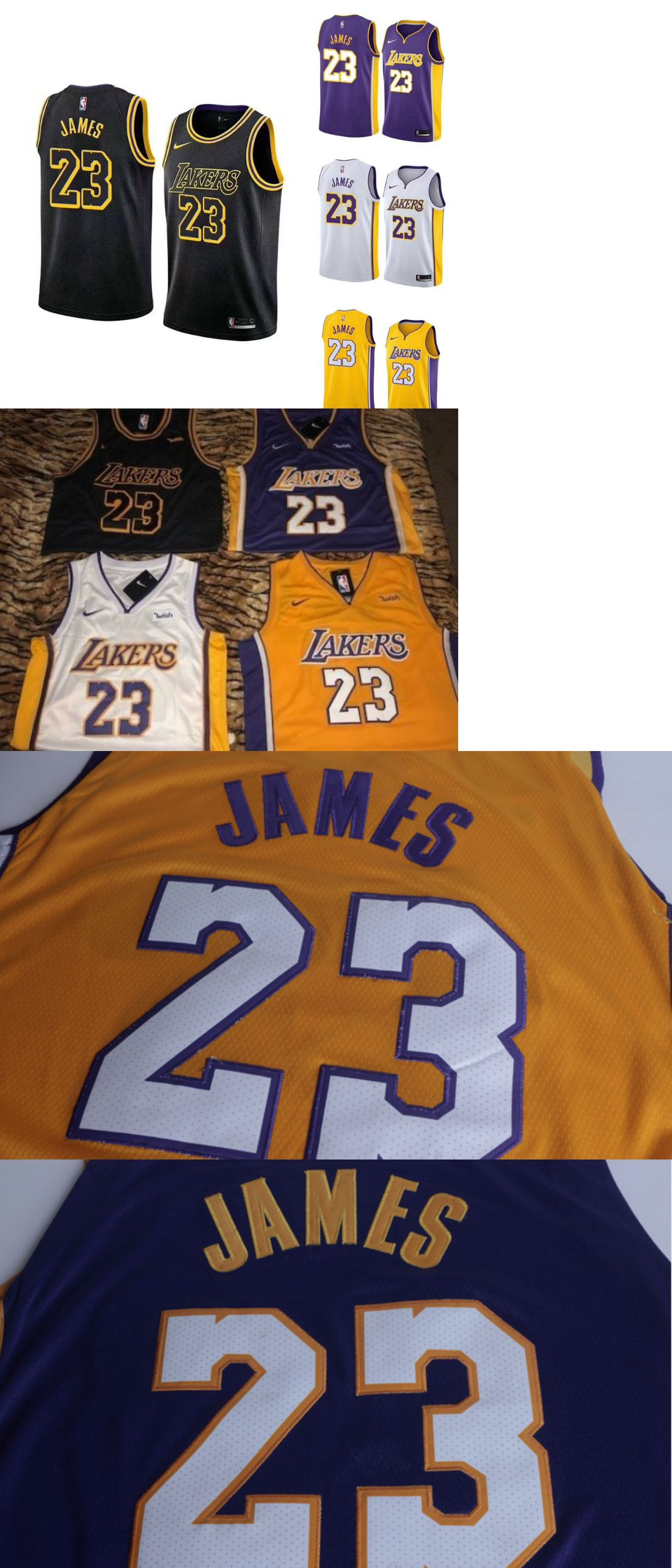57d1709dc Basketball 21194  Lebron James 23 Los Angeles Lakers Jerseys Edition  Swingman Stitched 4 Color Nwt -  BUY IT NOW ONLY   35.99 on eBay!