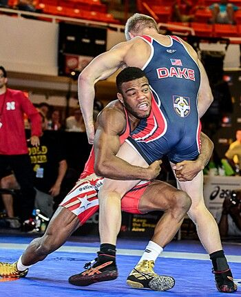 Jordan Burroughs vs. Kyle Dake. Present   future of USA wrestling ... 50f84d19a