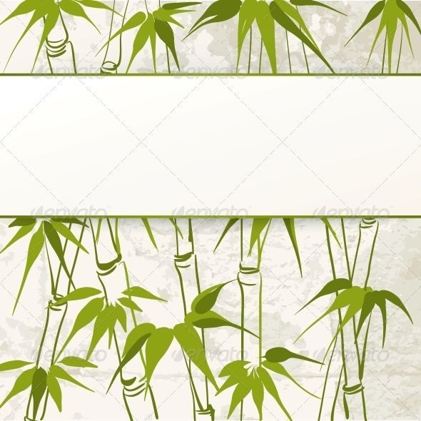 Bamboo With Leaves Pattern Flowers Amp Plants Nature