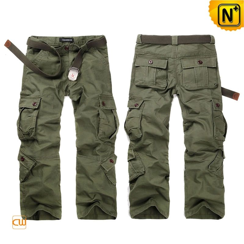 Army Green Cargo Pants Trousers for Men CW140285 Good looking mens ...