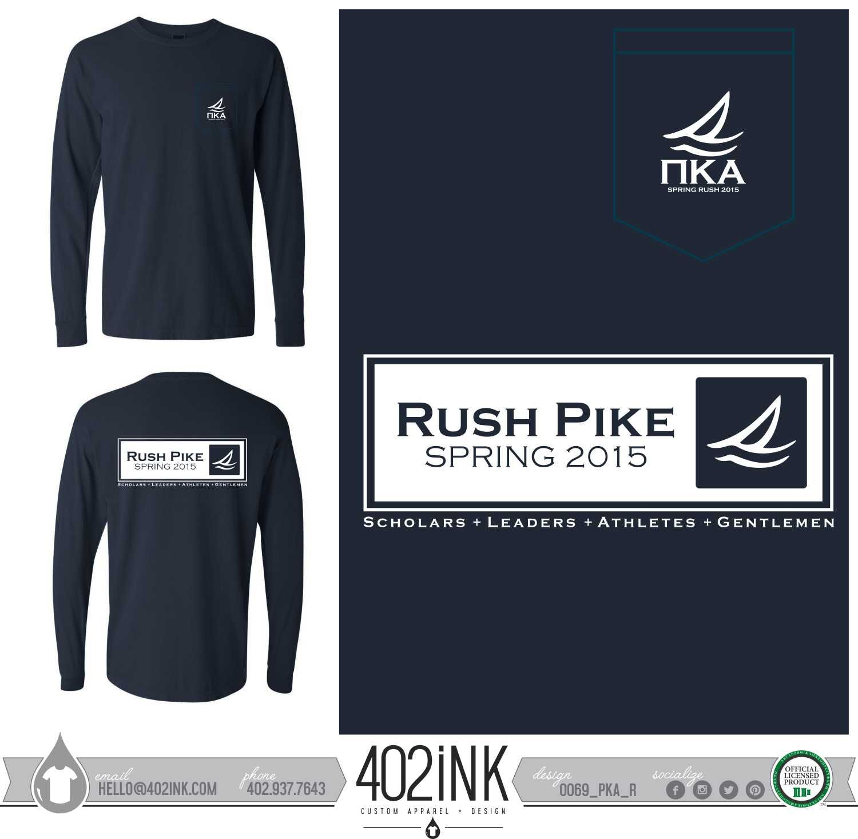 402ink 402style 402ink custom apparel greek t shirts for Rush custom t shirts