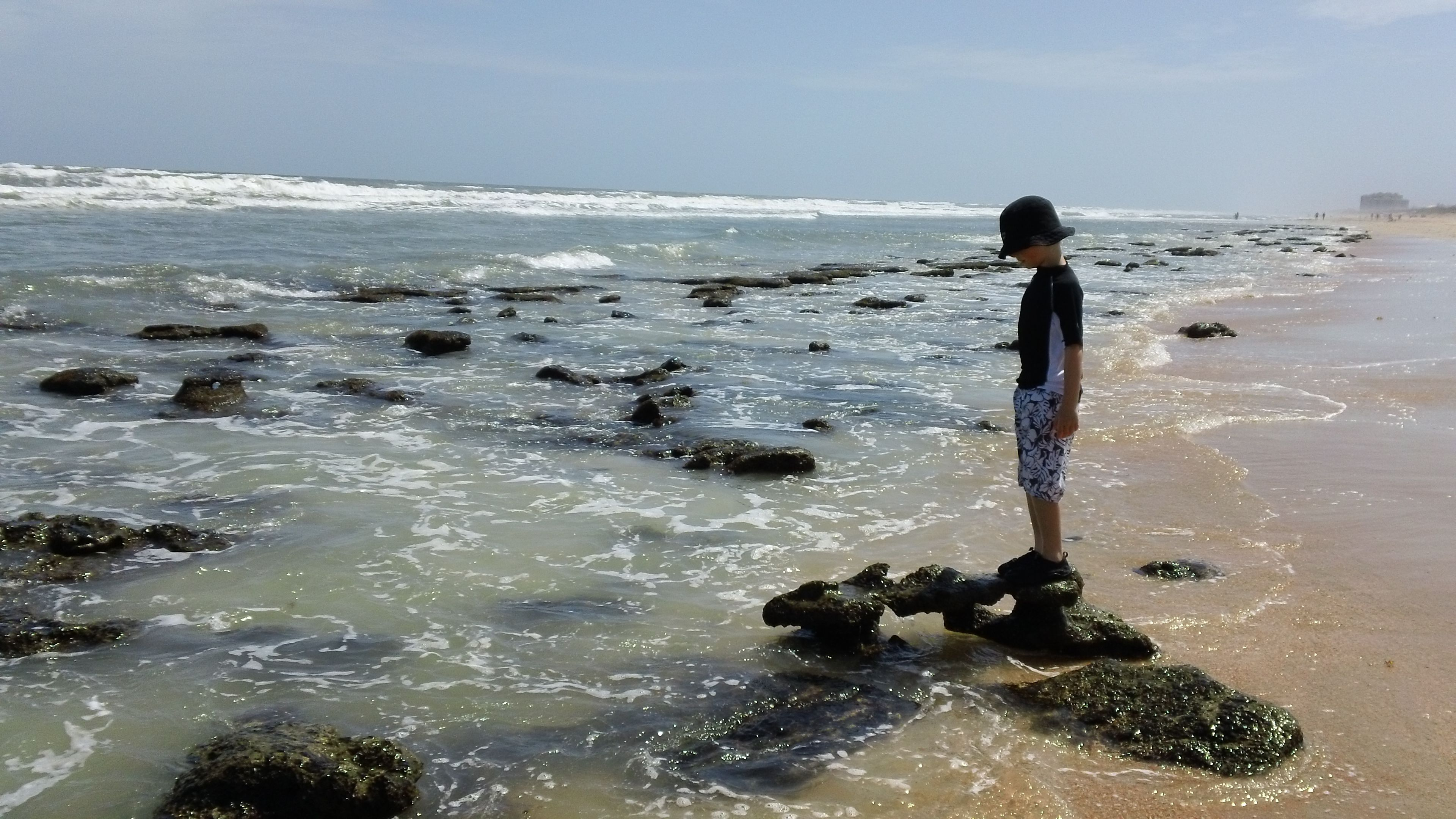 Cinnamon Beach, Fl at low tide