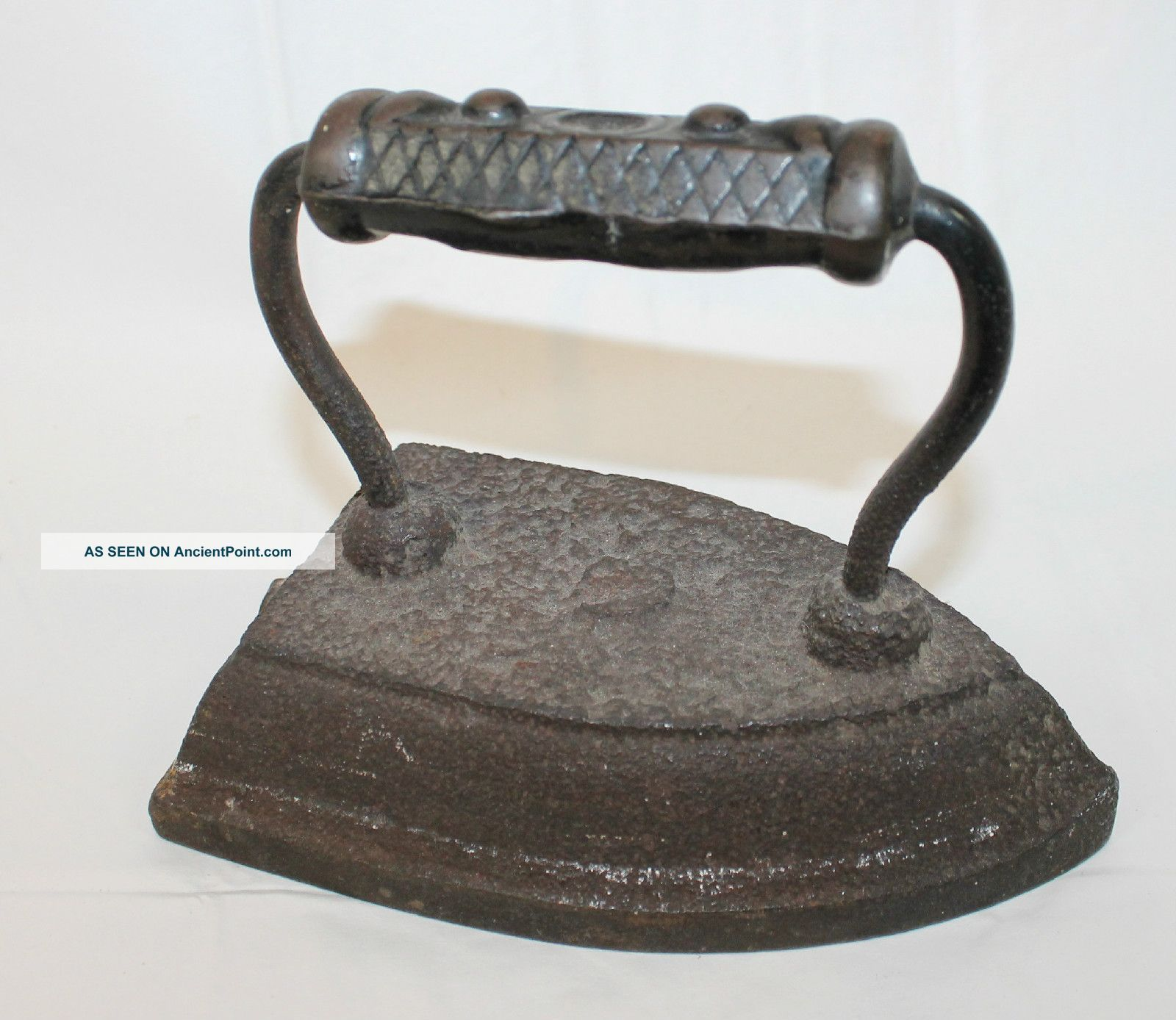 1800 Electric Iron ~ Antique s decorative cast iron sad coal
