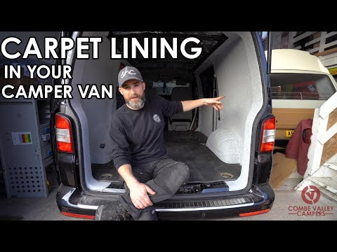 16 How To Professionally Line Your Camper Van With 4 Way Stretch