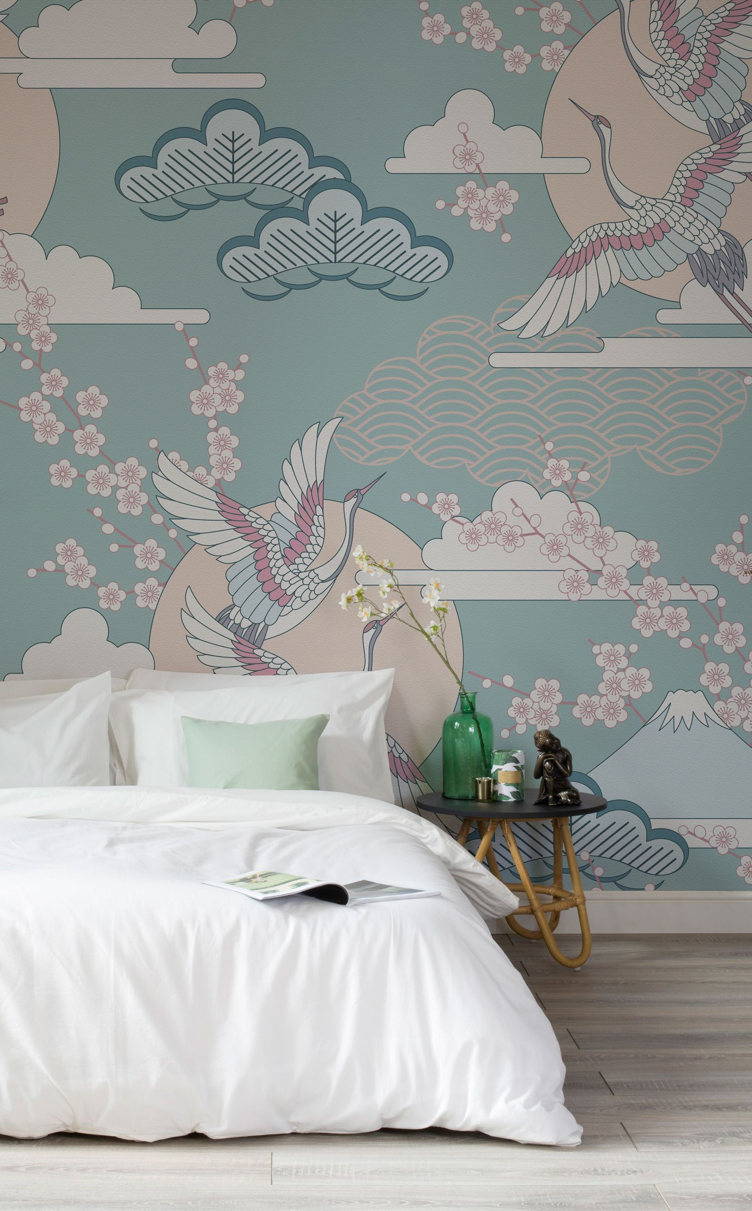 Green and pink oriental sky wallpaper pinterest pastel colors