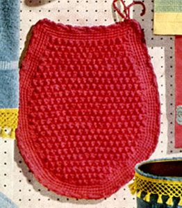 Flamingo Toilet Seat Cover Crochet Pattern From Decorating