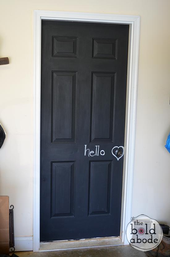 Chalkboard Door Baby Diy Door Painted Bedroom Doors