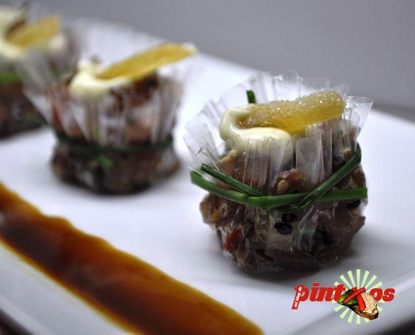 recetas de pintxos de atun