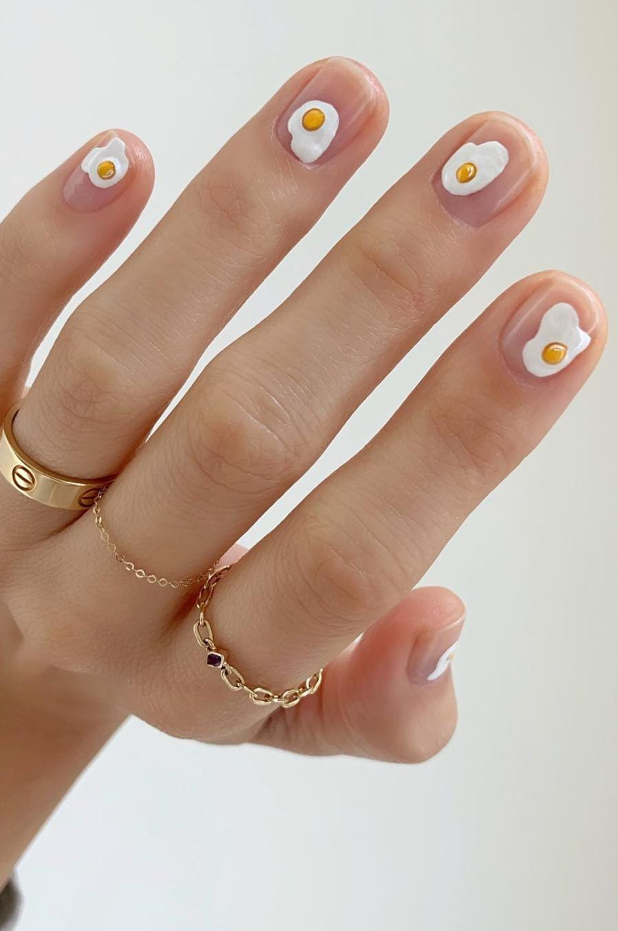 51 Great Spring Nail Art Ideas You Haven T Tried Yet 2020 Page 9 Of 50 Hotcrochet Com In 2020 Minimalist Nails Manicure Winter Nails Acrylic
