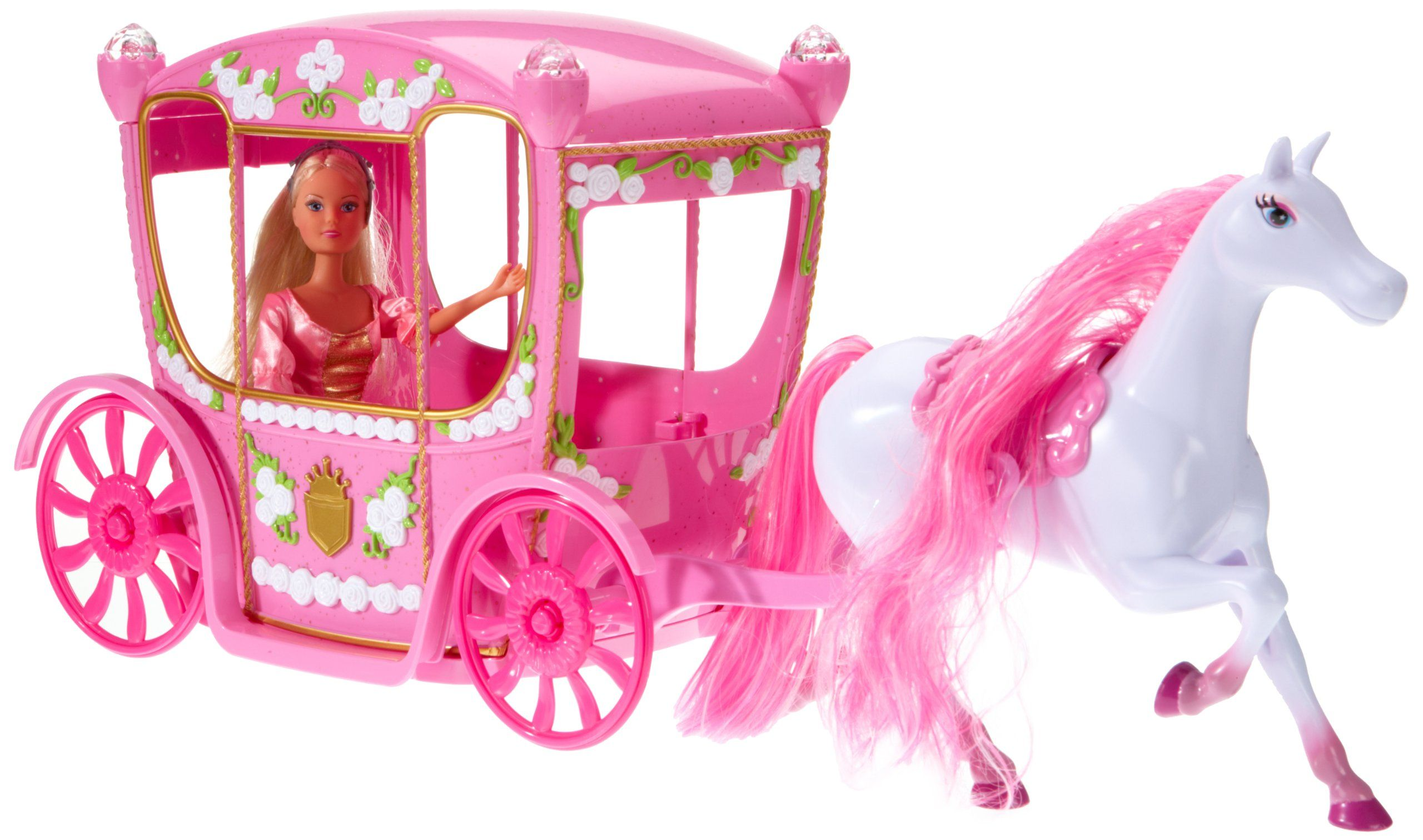 Simba Toys 5739125 Steffi love - Horse and carriage