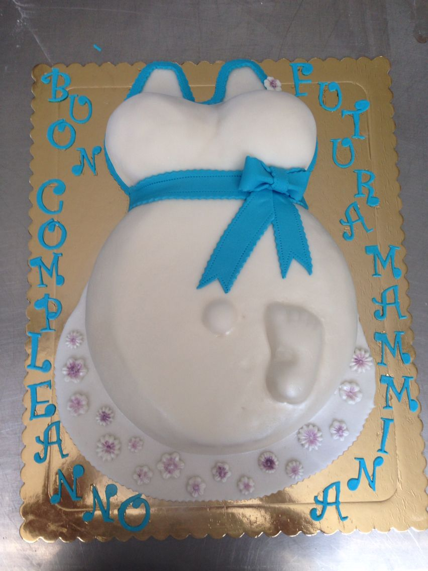 Torta Compleanno Neo Mamma.La Torta Per Futura Mamma Bambini