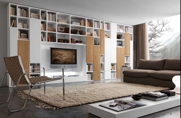 Gallery Of Modern Home Library Design At Your Family Room
