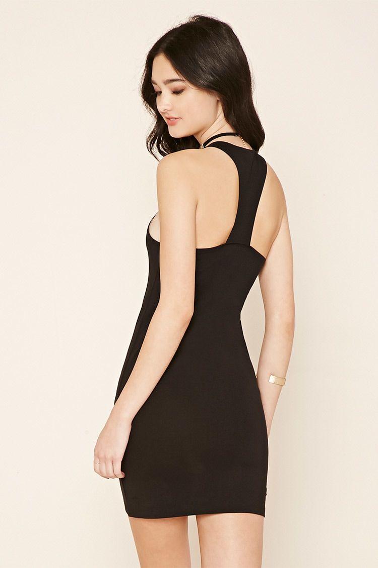 Racerback Bodycon Dress Bodycon Dress Dresses Fashion [ 1125 x 750 Pixel ]